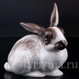Фарфорвая статуэтка Кролик, Rosenthal, Германия, 1950-60 гг..